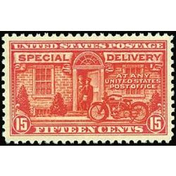 us stamp e special delivery e13 post office truck 10 1922