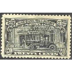 us stamp e special delivery e14 post office truck 20 1922
