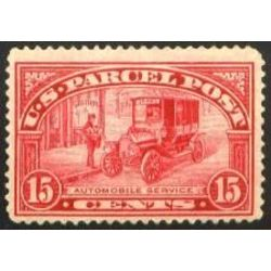 us stamp q parcel post q7 automobile service parcel post 15 1913
