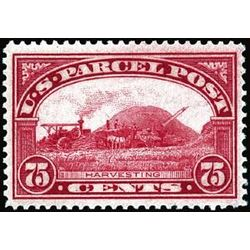 Us stamp q parcel post q11 harvesting parcel post 75 1912