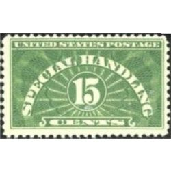 us stamp qe special handling qe2 special handling 15 1925