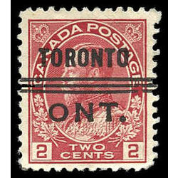 canada stamp 106xx king george v 2 1911