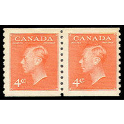 Canada stamp 310pa king george vi 1951