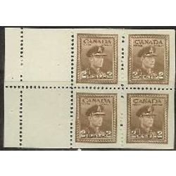 canada stamp 250a king george vi in army uniform 1942