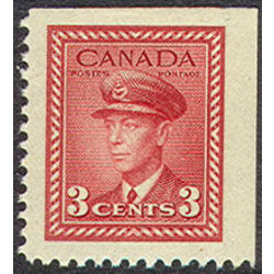 canada stamp 251as king george vi in airforce uniform 3 1942