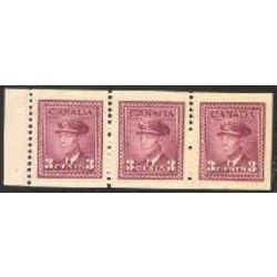 canada stamp 252b king george vi in airforce uniform 1943