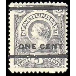 newfoundland stamp 77 queen victoria 1897