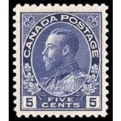 canada stamp 111b king george v 5 1912
