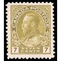 canada stamp 113c king george v 7 1914