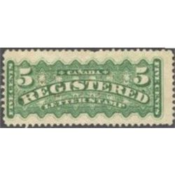canada stamp f registration f2i registered stamp 5 1875