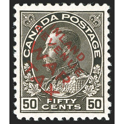 canada stamp mr war tax mr2di war tax 50 1915