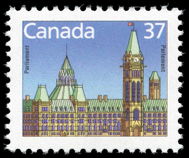 Buy Canada 1163bs Houses Of Parliament 1988 37