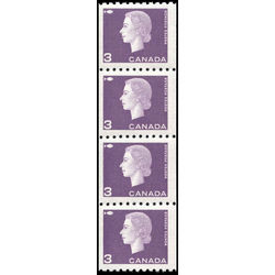 canada stamp 407strip queen elizabeth ii 1963
