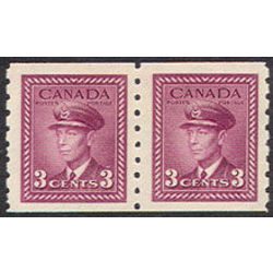 canada stamp 266pa king george vi 1943