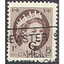 canada stamp o official o40ii queen elizabeth ii wilding portrait 1 1955
