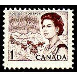 canada stamp 454ei queen elizabeth ii northern lights 1 1971