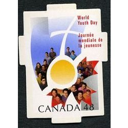 canada stamp 1957 world youth day 48 2002