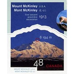 canada stamp 1960h mount mckinley north america 48 2002