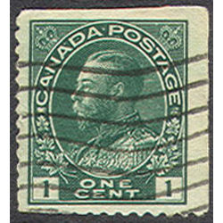 canada stamp 104aivs king george v 1 1915