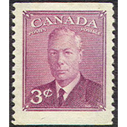 canada stamp 286as king george vi 3 1950