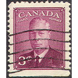 canada stamp 286bs king george vi 3 1950