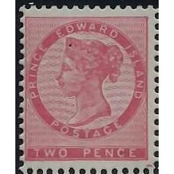 prince edward island stamp pe5b queen victoria 1862