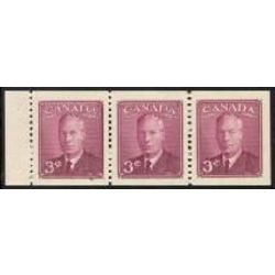 canada stamp 286a king george vi 1950