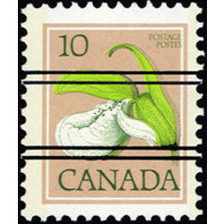 canada stamp 711xx lady s slipper 10 1977