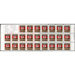 canada stamp 1359e flag over field 1994