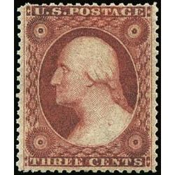 us stamp postage issues 26 washington 3 1857