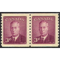 canada stamp 296pa king george vi 1949