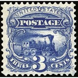 us stamp postage issues 114 locomotive ultramarine 3 1869