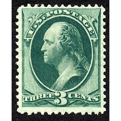 us stamp postage issues 158 washington 3 1873