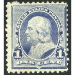 us stamp postage issues 219 franklin 1 1890
