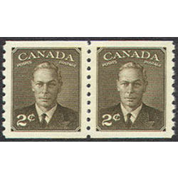 canada stamp 298pa king george vi 1950