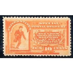 us stamp e special delivery e3 messenger running 10 1893