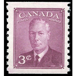 canada stamp 299 king george vi 3 1950