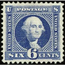 us stamp postage issues 115 washington ultramarine 6 1869