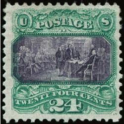 us stamp postage issues 120 signing declaration 24 1869