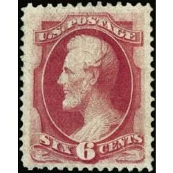 us stamp postage issues 137 lincoln 6 1870