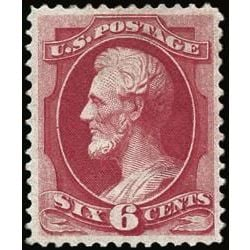 us stamp postage issues 148 lincoln 6 1870
