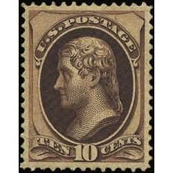 us stamp postage issues 150 jefferson 10 1870