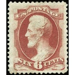 us stamp postage issues 159 lincoln 6 1873