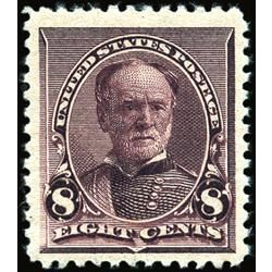 us stamp postage issues 225 william t sherman 8 1890