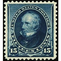 us stamp postage issues 227 henry clay 15 1890