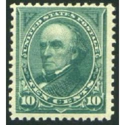 us stamp postage issues 258 webster 10 1894