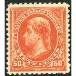 us stamp postage issues 275 jefferson 50 1895