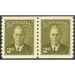 Canada stamp 309pa king george vi 1951