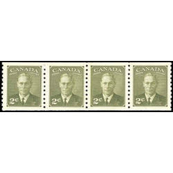 Canada stamp 309st king george vi 1951