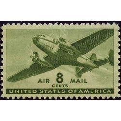 us stamp c air mail c26 transport plane 8 1941